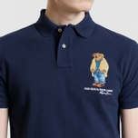 Мужское поло Polo Ralph Lauren Different Logo Bear Cruise Navy фото- 2