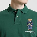 Мужское поло Polo Ralph Lauren Different Logo Bear New Forest фото- 2