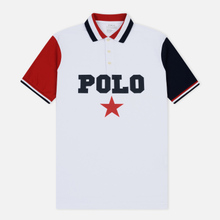 Мужское поло Polo Ralph Lauren Graphic Polo And Red Star White/Multicolor фото- 0