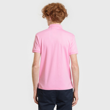 Мужское поло Polo Ralph Lauren Logo Embroidered Slim Fit Harbor Pink фото- 2