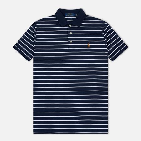 Мужское поло Polo Ralph Lauren Pima Stripe French Navy/Multicolor