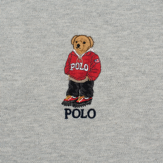 Мужское поло Polo Ralph Lauren Bear Hiking Boots Andover Heather