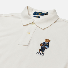 Мужское поло Polo Ralph Lauren Bear Ready Play Football In Polo Style Deckwash White фото- 1