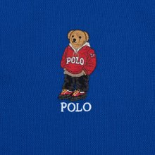 Мужское поло Polo Ralph Lauren Polo Pony Mini Logo Basic Mesh Pacific Royal фото- 2