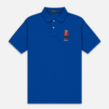Мужское поло Polo Ralph Lauren Polo Pony Mini Logo Basic Mesh Pacific Royal фото- 0