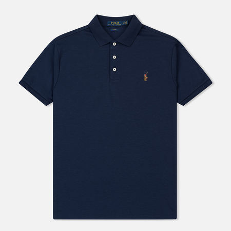 Мужское поло Polo Ralph Lauren Slim Fit Soft-Touch French Navy