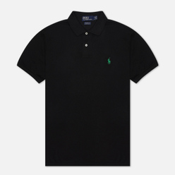 Мужское поло Polo Ralph Lauren The Earth Polo Recycled Mesh Black