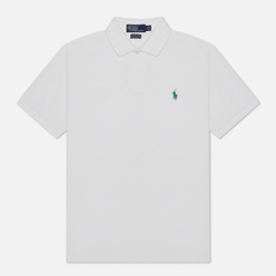 Мужское поло Polo Ralph Lauren The Earth Polo Recycled Mesh White
