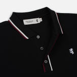 Мужское поло Pringle of Scotland Classic Slim Fit Black фото- 2