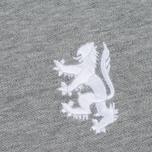 Мужское поло Pringle of Scotland Lion Logo Grey Melange фото- 2