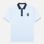 Мужское поло Pringle of Scotland Lion Logo Oxford фото- 0
