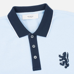Мужское поло Pringle of Scotland Lion Logo Oxford фото- 1