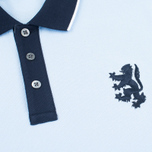 Мужское поло Pringle of Scotland Lion Logo Oxford фото- 2