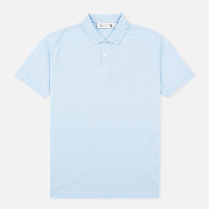 Pringle of Scotland Solid Pique 60 Men's Polo Pale Blue