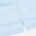 Pringle of Scotland Solid Pique 60 Men's Polo Pale Blue photo- 4