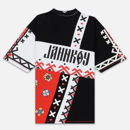 Мужское поло Puma x JAHNKOY All Over Print High Risk Red