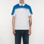 Мужское поло Sergio Tacchini New Young Line Archivio White/Royal фото- 4