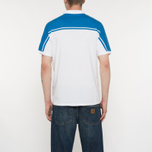 Мужское поло Sergio Tacchini New Young Line Archivio White/Royal фото- 5