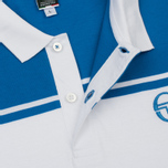 Мужское поло Sergio Tacchini New Young Line Archivio White/Royal фото- 2
