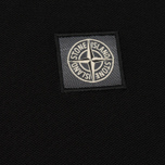 Мужское поло Stone Island Cotton Pique Black фото- 2