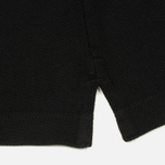 Мужское поло Stone Island Cotton Pique Black фото- 4