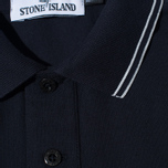 Мужское поло Stone Island Patch Program Dark Navy фото- 2