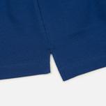 Мужское поло Universal Works Piquet Fine Piquet Cotton Royal Blue фото- 3