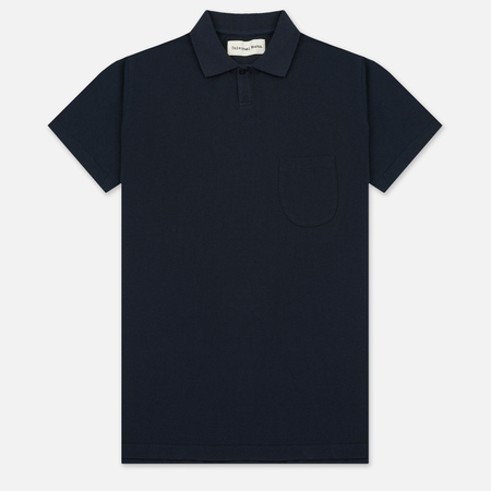 Мужское поло Universal Works Vacation Piquet Navy