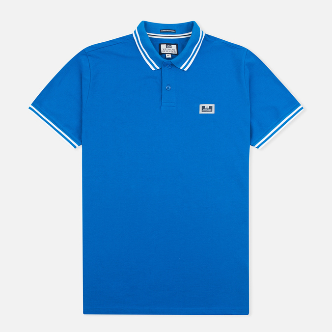 Мужское поло Weekend Offender Pride Bondi Blue