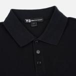 Мужское поло Y-3 Classic Logo Left Sleeve Black фото- 1
