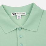 Мужское поло Y-3 Classic Logo Left Sleeve Light Green фото- 1