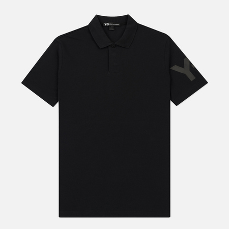 Мужское поло Y-3 Classic Regular Fit Black