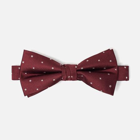 Мужской галстук-бабочка Gant XO Winter Wine
