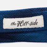 Мужской галстук-бабочка The Hill-Side Ombre Plaid Flannel Indigo фото- 2