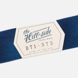Мужской галстук-бабочка The Hill-Side Ombre Plaid Flannel Indigo фото- 3