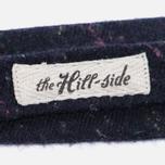 Мужской галстук-бабочка The Hill-Side Wool Blend Galaxy Tweed Navy фото- 2