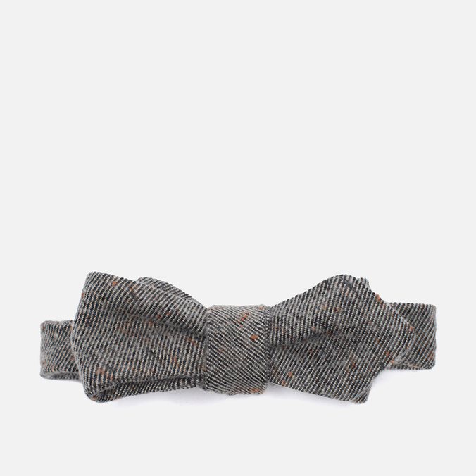 Мужской галстук-бабочка The Hill-Side Wool Blend Galaxy Tweed Oatmeal
