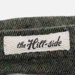 Мужской галстук-бабочка The Hill-Side Wool Blend Galaxy Tweed Olive фото- 2