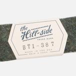 Мужской галстук-бабочка The Hill-Side Wool Blend Galaxy Tweed Olive фото- 3