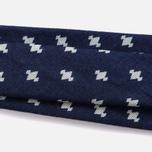 Мужской галстук Blue Blue Japan J5589 Abacus Dot Bassen Printed Indigo фото- 2