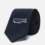 Мужской галстук Nanamica Alphadry Navy фото- 1