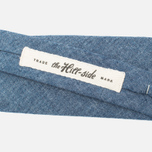 Мужской галстук The Hill-Side Pointed Selvedge Chambray Indigo фото- 2