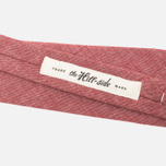 The Hill-Side Pointed Selvedge Men's Tie Chambray Red photo- 2