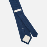 Мужской галстук The Hill-Side Pointed Selvedge Lightweight Indigo фото- 1
