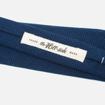 Мужской галстук The Hill-Side Pointed Selvedge Lightweight Indigo фото- 2