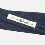 Мужской галстук The Hill-Side Selvedge Lightweight Weft-Slub Denim Indigo фото- 2