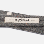 Мужской галстук The Hill-Side Square End Wool Blend Galaxy Tweed Oatmeal фото- 2
