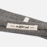 Мужской галстук The Hill-Side Wool Blend Galaxy Tweed Oatmeal фото- 2