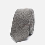 Мужской галстук The Hill-Side Wool Blend Galaxy Tweed Oatmeal фото- 0