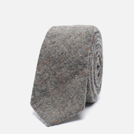 Мужской галстук The Hill-Side Wool Blend Galaxy Tweed Oatmeal
